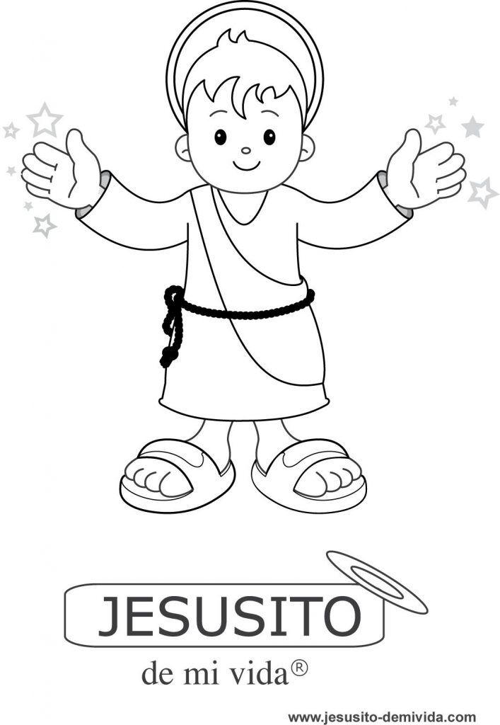Poster para pintar de Jesusito