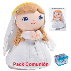 Pack Comunión peluche Virgen María